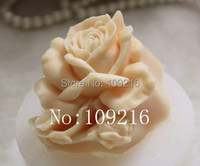 Wholesale 1pcs small rose zx060 silicone handmade soap mold crafts diy mould.jpg 200x200