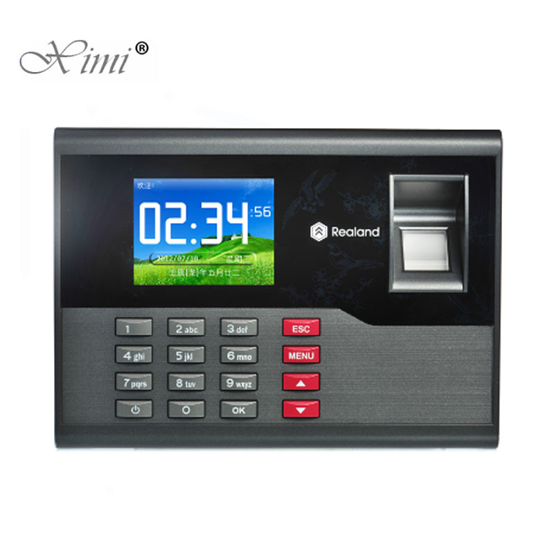 High Speed TCP/IP USB Fingerprint Time Attendance RFID Card Time And Attendance Time Control Employee Attendance Device A-C121