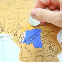 Neue Vintage Reise Welt Scratch Map Scratch Karte Der Welt Poster Deluxe Scratch Weltkarte Scratch Mapa