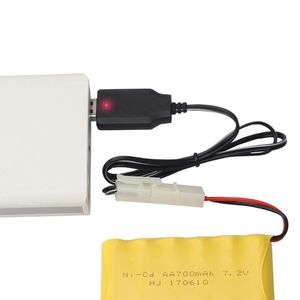 Image 3 - Rechargeable Battery Charger Ni Cd Ni MH SC Batteries Pack KET 2P Plug Power Adapter 7.2V 250mA Output