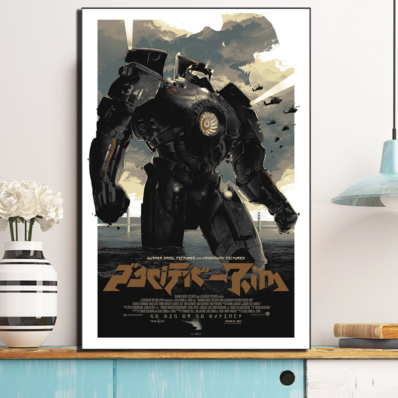 Pacific Robo Cop Movie Hot Classic Movie Paintings On Canvas Modern Art Poster Wall Pictures For Living Room Home Decoration image