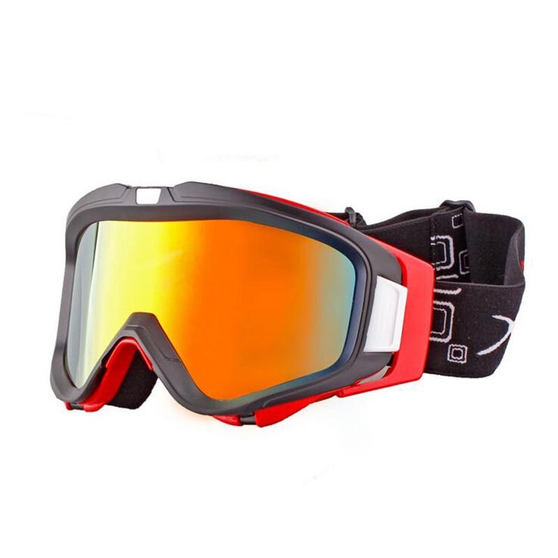 2017 new Professional winter skiing goggles men women snowboard Eyewear anti-fog windproof UV400 Sport ski Glasses XH028