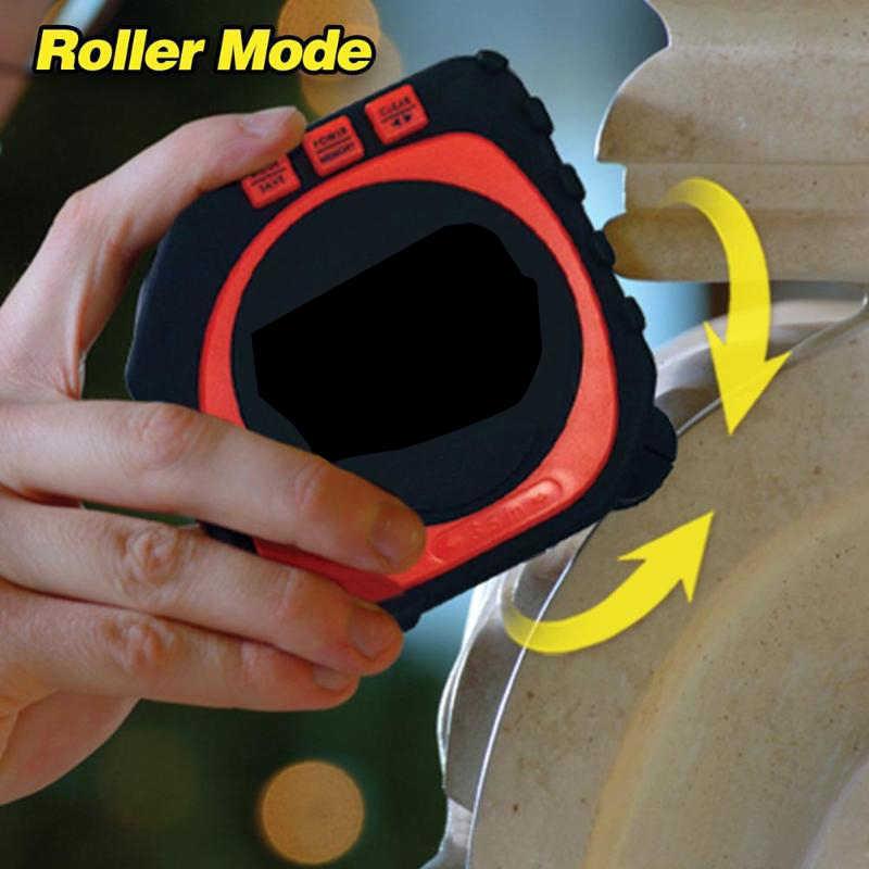 3 в 1 измерительная лента с режимом рулонного шнура Высокая точность Лазерная цифровая лента ударопрочный Профессиональный измерительный инструмент