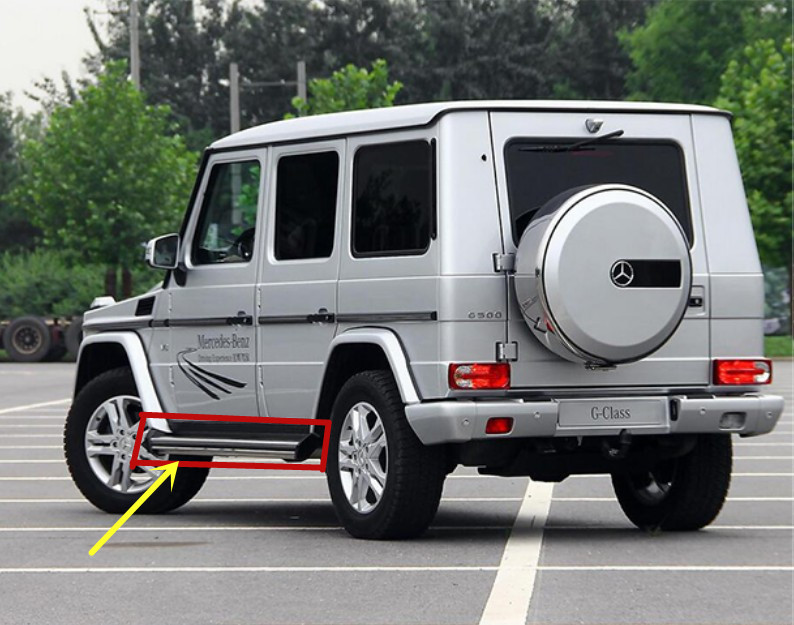 Car Running Boards Auto Side Step Bar Pedals For Mercedes