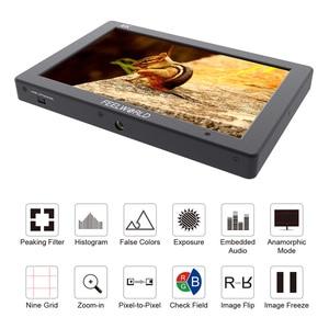 "Image 3 - Feelworld T7 7"" Camera monitor 4K HDMI 1920x1200 LCD IPS Full HD On camera Monitor Video Assist 7 inch Camera Field Monitor"