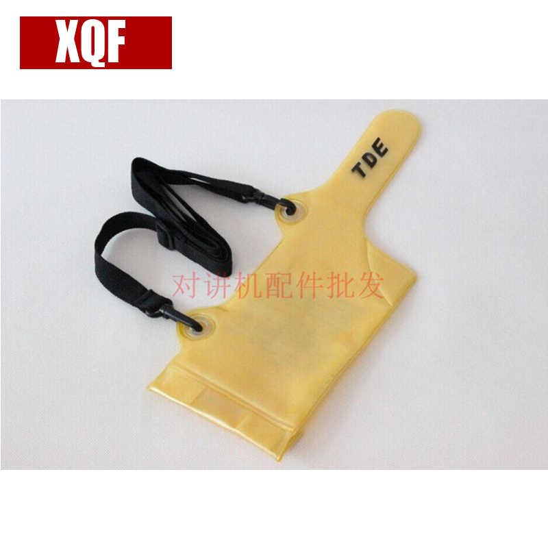 XQF водонепроницаемый костюм для BaoFeng UV5R ручная рация водонепроницаемая сумка|baofeng