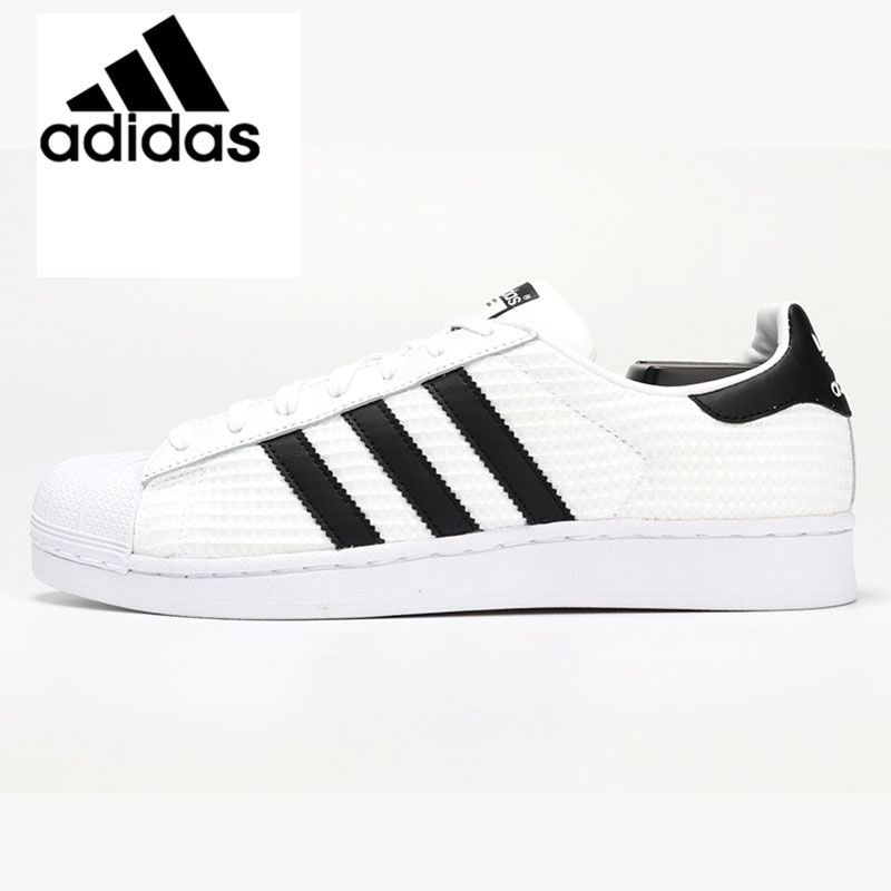 Original Authentic <font><b>Adidas</b></font> <font><b>SUPERSTAR</b></font> Men Women <font><b>Unisex</b></font> Skateboarding Classic Shoes Outdoor Sport Athletic 2019 New Designer CM8077 image