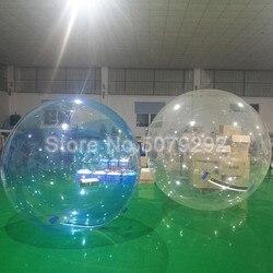 Freies Verschiffen Wasser Zorb Ball Für Menschliches Riesen Aufblasbare Hamster Ball Für Pool 1,5 M/2 M Durchmesser Wasser gehende Kugel/Wasser Ballon