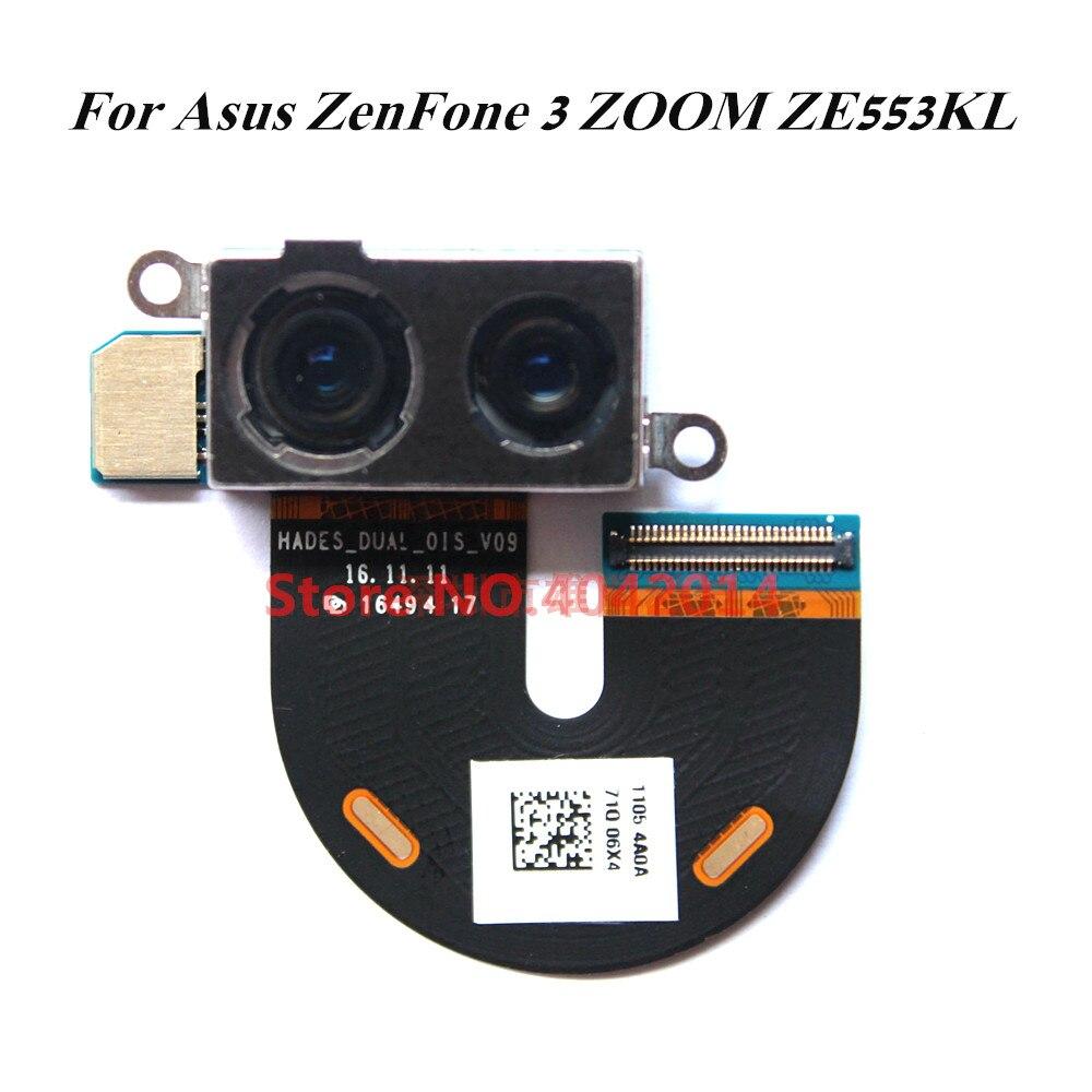 Caméra frontale d'origine pour Asus ZenFone 3 ZOOM ZE553KL pièces de rechange pour Module de câble flexible pour caméra de recul arrière
