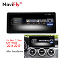 NaviFly 3 + 32 Android 7.1 auto GPS navigation multimedia player für Mercedes Benz C Klasse S205 W205 2014-2017 audio stereo 4G LTE