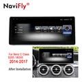 NaviFly 3 + 32 Android 7.1 di navigazione GPS per auto lettore multimediale per Mercedes Benz Classe C S205 W205 2014- 2017 Audio stereo 4G LTE