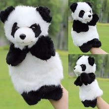 Baby Children Panda Hand Puppet Toy Adult Child Interactive Story Telling Hand Puppet Baby Kids Doll Soft Plush Toys