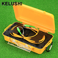 KELUSHI OTDR Dead Zone Eliminator Fiber Optic OTDR Extend Cable Box 1km SM  SIngle Mode 9/125 SC -APC Connectors 1310/1550nm