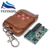 10 IC set 2262/2272 Kits 4 CH 315Mhz Chave de Controle Remoto Sem Fio módulo Receptor