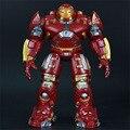 2015 строительство игрушки smetal версия Мстители 2 age of ultron фильм железный Человек детские игрушки Свет мультфильм игрушечные фигурки Робот для детей