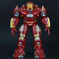 2015 bloques de construcción de juguete smetal versión Vengadores 2 edad de ultron película Iron Man niños juguetes figuras de juguete Robot de dibujos animados de Luz para el cabrito