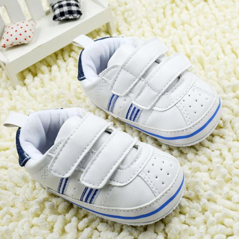 Kids Toddlers Baby Boys Girls Unisex First Shoes Soft Soled Sneaker Toddler Shoes