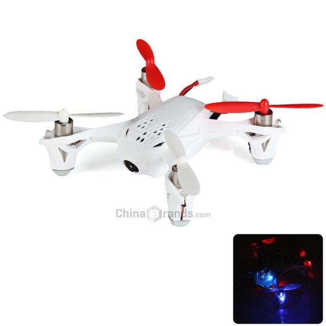 Original Hubsan X4 H107D FPV Control Remoto Portátil 5.8 GHz 4CH 6-Axis Gyro RC Helicóptero Quadcopter Drone con 0.3MP HD cámara