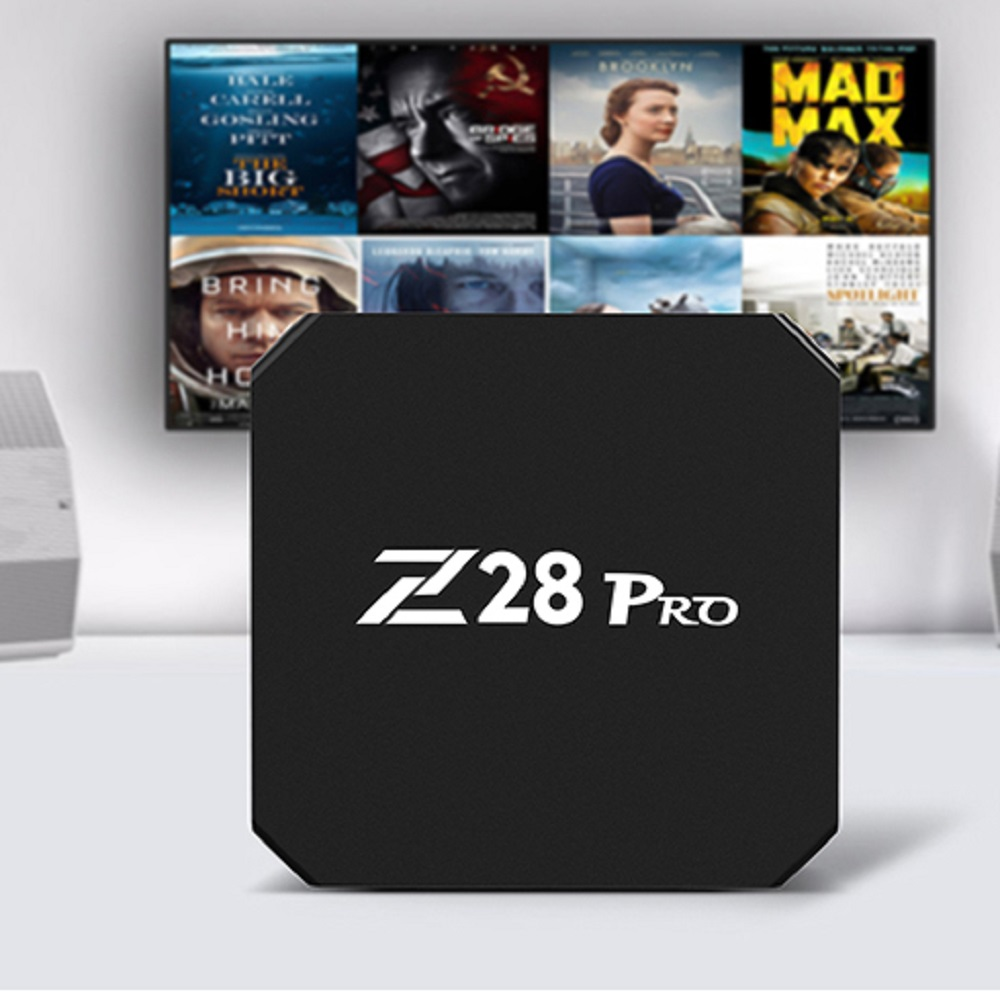 Mesuvida Z28 Pro RK3328 Cortex - A53 Smart TV Box Android 7.1 Max 2G RAM 16G ROM HDMI Top Box Support H.265 Smart Media Player zidoo a5s android 6 0 smart tv box s905x cortex 64bit 2 0ghz 2g 16g wifi 4k hdmi h 265 eeay cast kodi google play store