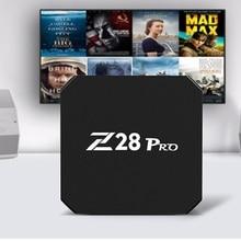 Mesuvida Z28 Pro RK3328 Cortex – A53 Smart TV Box Android 7.1 Max 2G RAM 16G ROM HDMI Top Box Support H.265 Smart Media Player