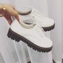 2016อังกฤษสไตล์ผู้หญิงO Xfordsใหม่ฤดูใบไม้ผลิฤดูหนาวลูกไม้ขึ้นแฟลตรอบนิ้วเท้าC Reepersผู้หญิงแพลตฟอร์มรองเท้าผู้หญิง