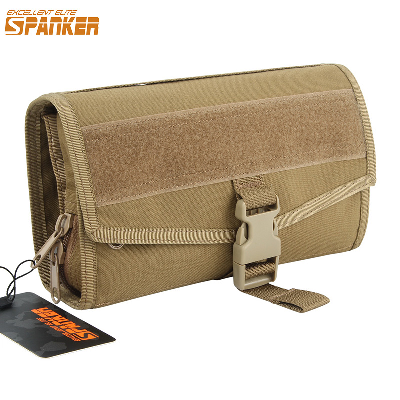 EXCELLENT ELITE SPANKER Portable Small  Travel Cosmetic Bag Tactical Men Women Waterproof Necessaries Makeup Cosmetic Bags