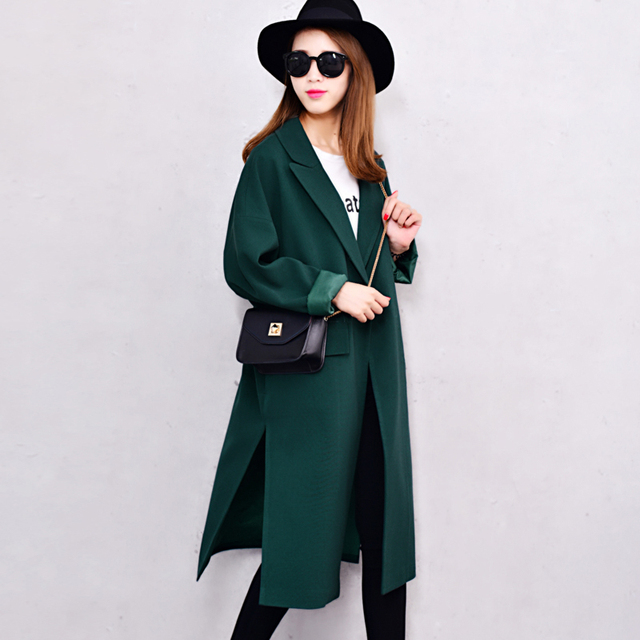 Oversize Trench Coats Casual Free Style Big Cool Trench Coat XXS-5XL