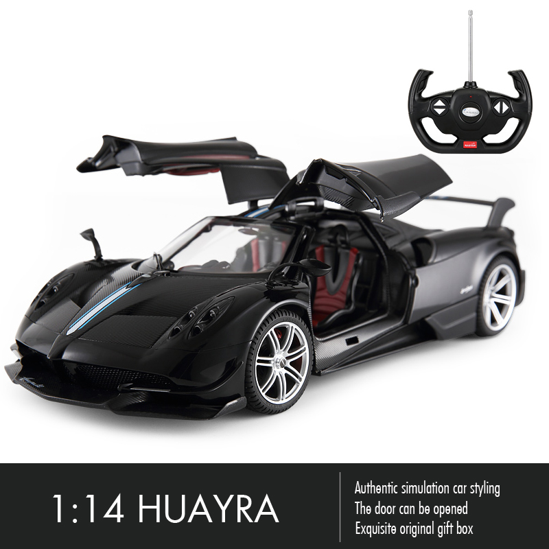 Rastar Huayra RC Car 1:14 Sport Racing Car Remote Control Toys Radio Control Open Door Machine Model Electric Car Toys for Boys radio-controlled car