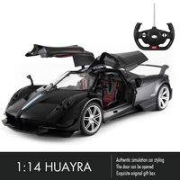 Rastar Huayra RC Car 1:14 Sport Racing Car Remote Control Toys Radio Control Open Door Machine Model Electric Car Toys for Boys