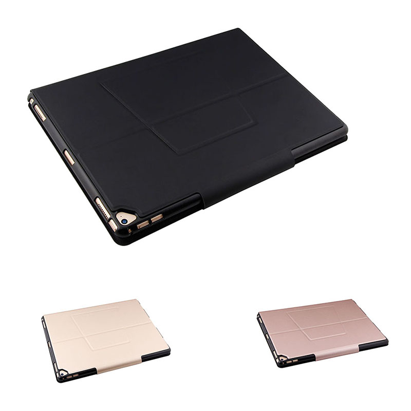 Wireless Bluetooth Keyboard Ultrathin Detachable Tablet PU Leather Case With Stand For iPad Pro 12.9 Inch 8 SL@88 2015 new detachable wireless bluetooth keyboard pu leather case stand cover for apple ipad pro 12 9 tablet shell