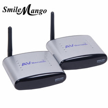 PAT-220 150M 2.4GHz Digital STB Sharing Device Wireless A/V Audio Video Transmitter Receiver Audio Video IR Extender for PAT220