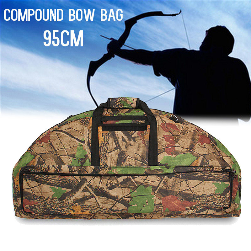 High Quality Bow & Arrow Hunting Shooting Bags Holder Compound Bow Bag Waterproof Canvas Large Capacity Portable Wear-resistant ...
