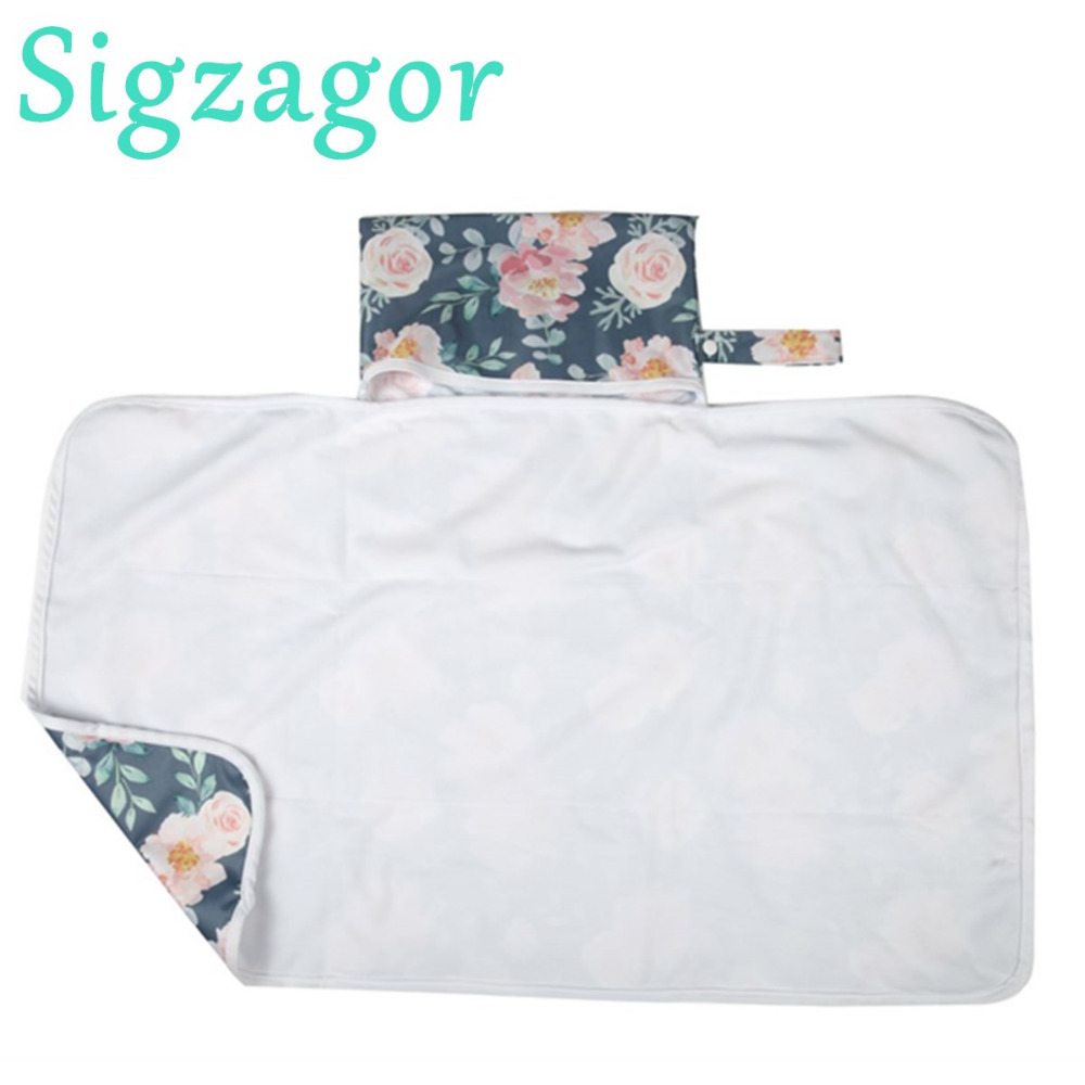Portable Foldable Washable Baby Waterproof Travel Nappy Diaper Changing Mat Pad