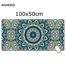 Gaming Mouse Pad Large 1000*500 mm Locking Edge mouse mat weclome custom