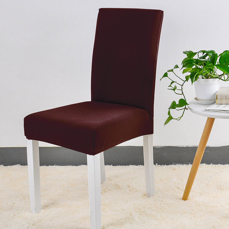 Jednolite kolory Elastyczna elastyczna elastan Krzesło na wesele - Tekstylia do domu - Zdjęcie 4