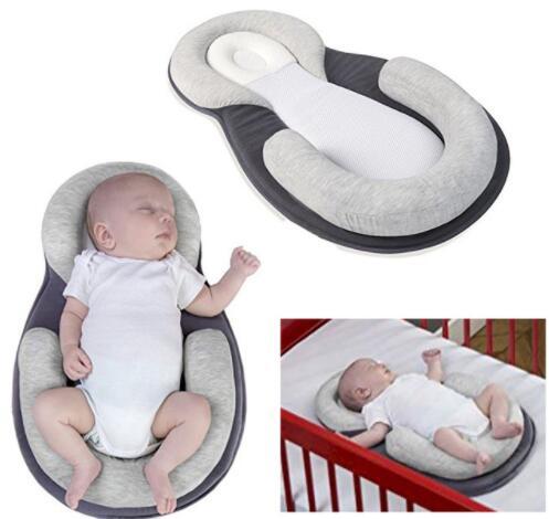 fffd79717d1942 Noworodka przytulne mata w wieku 0 8 miesięcy głowy wysokiej jakości  poduszka dla niemowląt pozycjonowania poduszka lateksowa poduszka dla  niemowląt ...