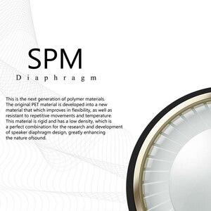 Image 2 - Kinera SIF HiFi Ses SPM Diyafram Dinamik Sürücü Kulak Monitörü Kulaklık Ayrılabilir MMCX kablo