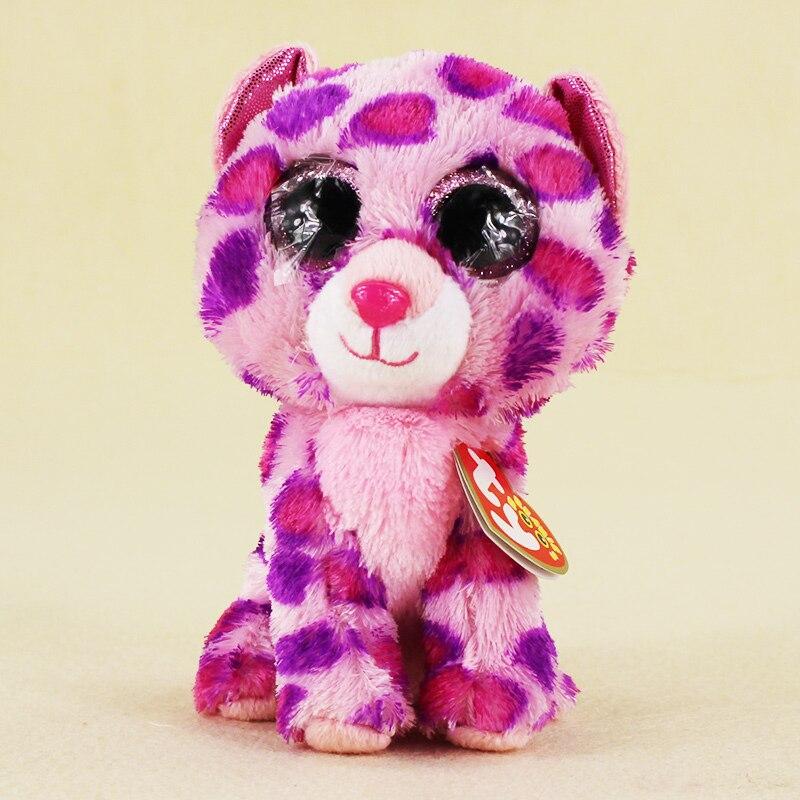 15 см Ty Beanie Боос большие Средства ухода для век плюшевые игрушки куклы пятна кошка ty для маленьких детей со дня рождения подарки