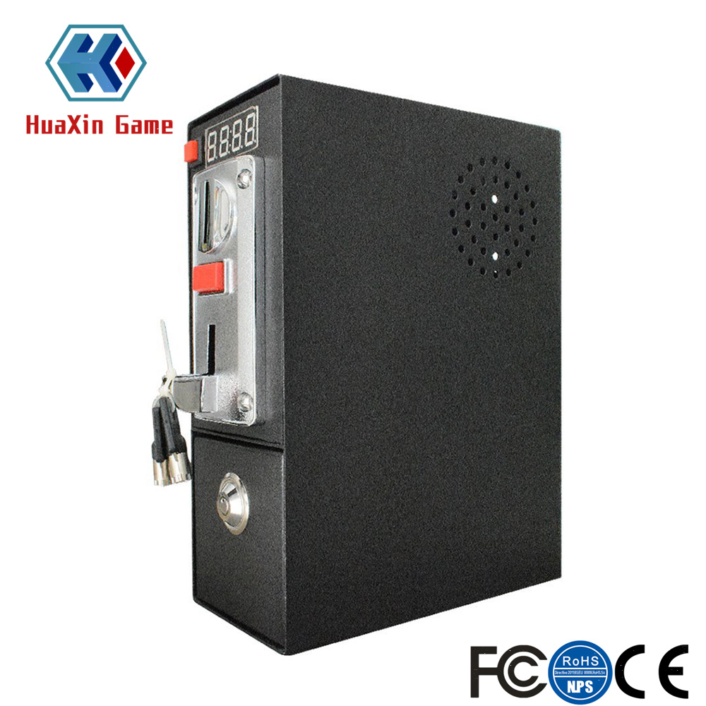 цена на Coin Operated Timer Control Box Multi Coin Acceptor Power Supply with Push Button