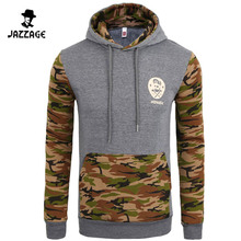 Moleton Masculino 2016 Slim Hoodies Men Sweatshirt Long Sleeve Pullover Hooded Sportswear Men'S Place Camouflage Tracksuit XXL