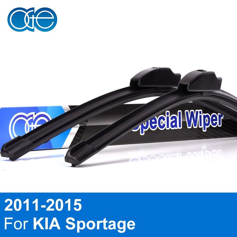 Oge Wischerblätter Für KIA Sportage 3 SL 2011 2012 2013 2014 2015 Hochwertigem Gummi Windschutzscheibe Auto Zubehör