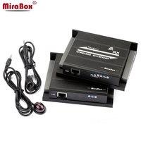 MiraBox 1080 P HDMI ИК Extender совместим с Беспроводной и сетевой кабель Беспроводной Extender 30 м 98ft сетевой кабель удлинитель 120 м 393ft