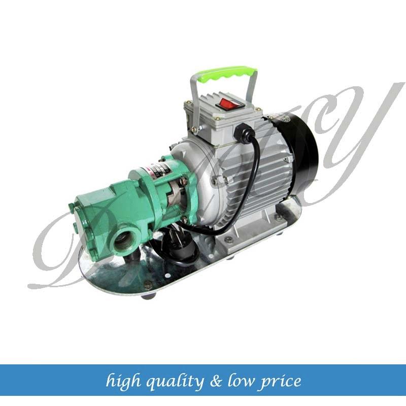 WCB 75 Portable Gear Oil Pump Cast Iron 220V 50hz wcb 100 cast iron portable electric gear thermal heavy oil pump