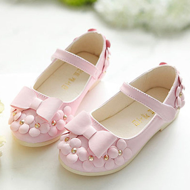 Spring Casual Children Shoes Flower Girls Shoes New  Bow Fahion Baby Girls Ballerinas Kids Ballet Shoes Zapatos Meninas