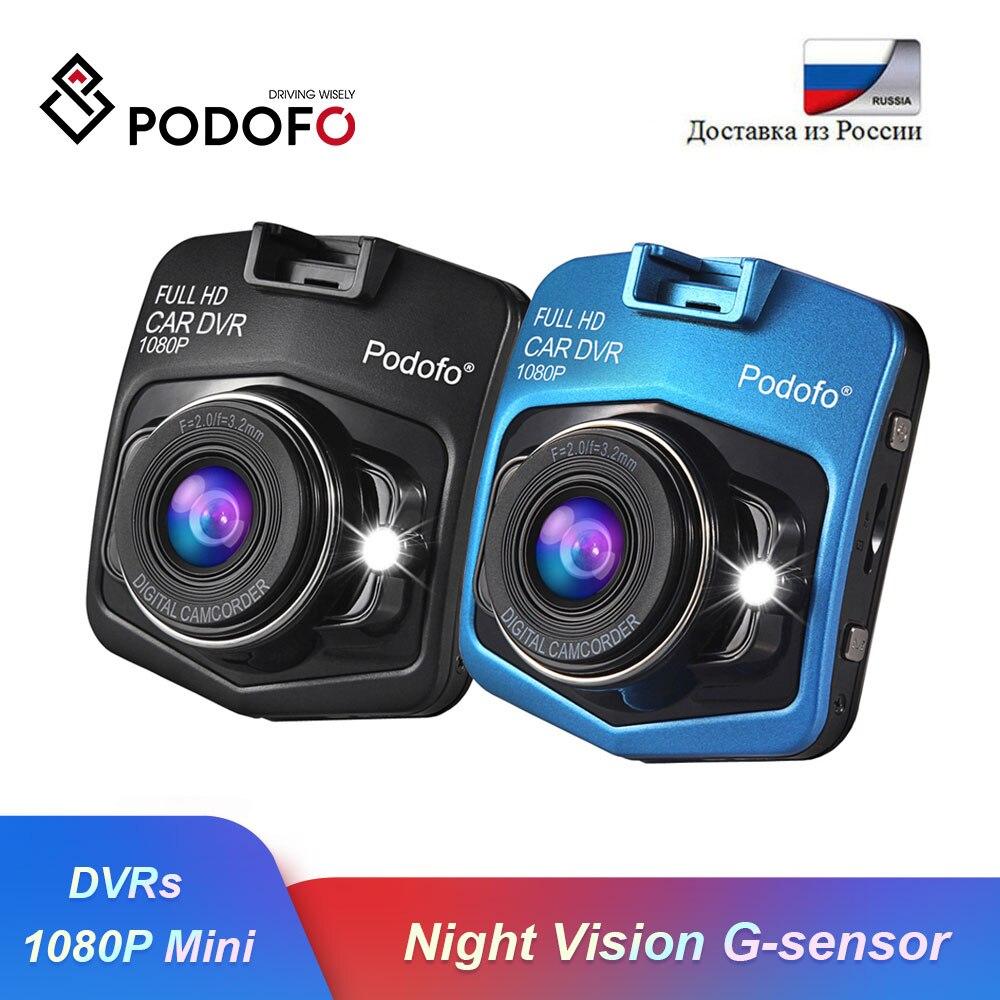 Podofo Car DVR Cam-Recorder Dashcam Carcam Camera G-Sensor Video-Registrar Night-Vision
