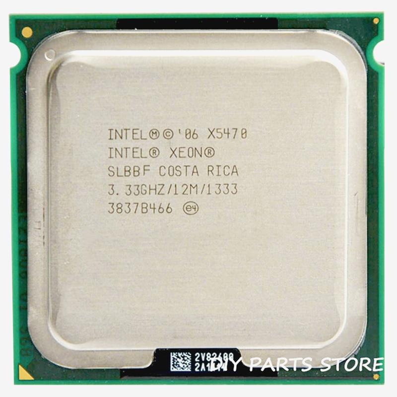 INTEL XONE X5470 CPU INTEL X5470 PROCESSOR četrkodolu 3.3MHZ LeveL2 12M Darbs ar 775 ar 2gab.