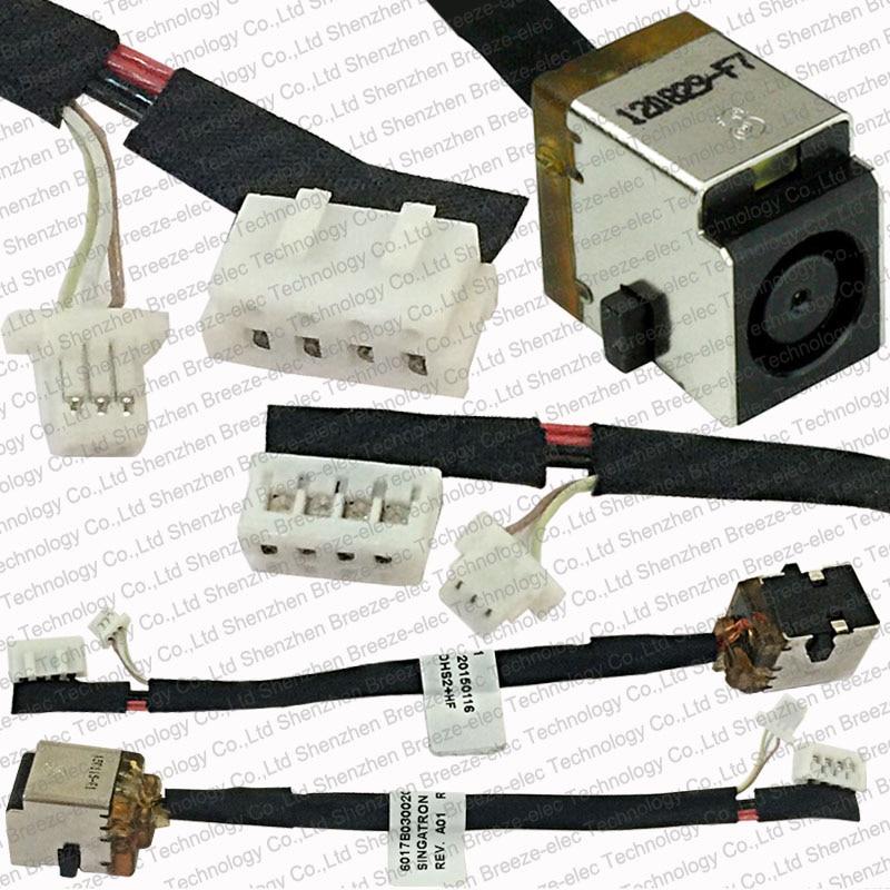 5pcs / lot Livraison Gratuite 100% Véritable Ordinateur Portable DC POWER JACK Socket connecteur de câble CABLE POUR HP PROBOOK 4530S 4730S 6017B0300201