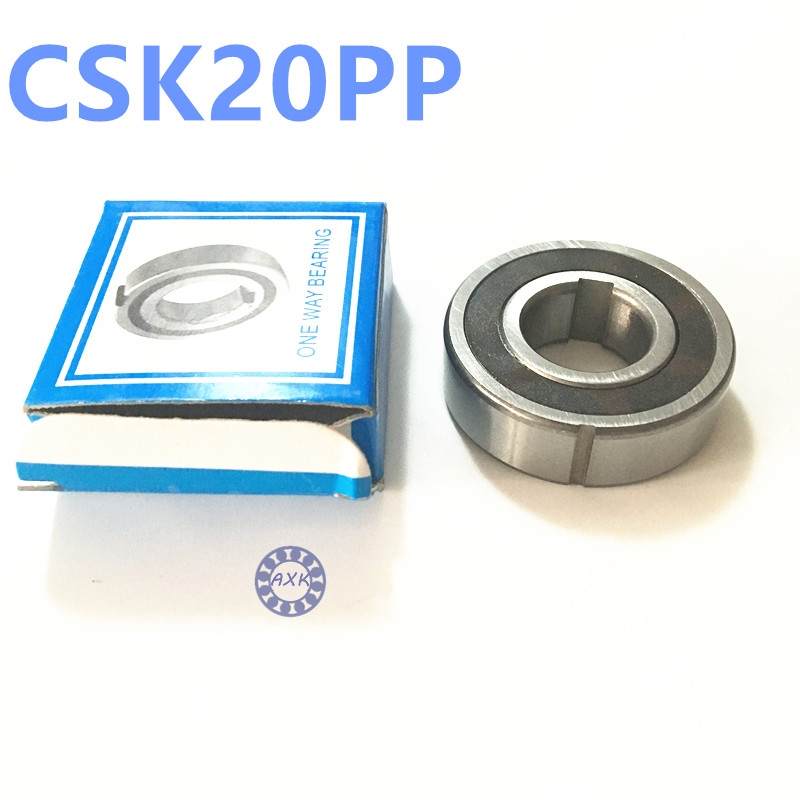 Free shipping 5pcs 6204 CSK20 CSK20PP BB20 one way clutch bearing 20x47x14 printer/Washing machine/printing machinery no groove flsun 3d printer big pulley kossel 3d printer with one roll filament sd card fast shipping