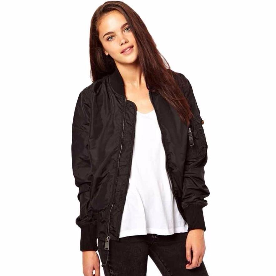 Bomber Jacket Girls Black Promotion-Shop for Promotional Bomber ...