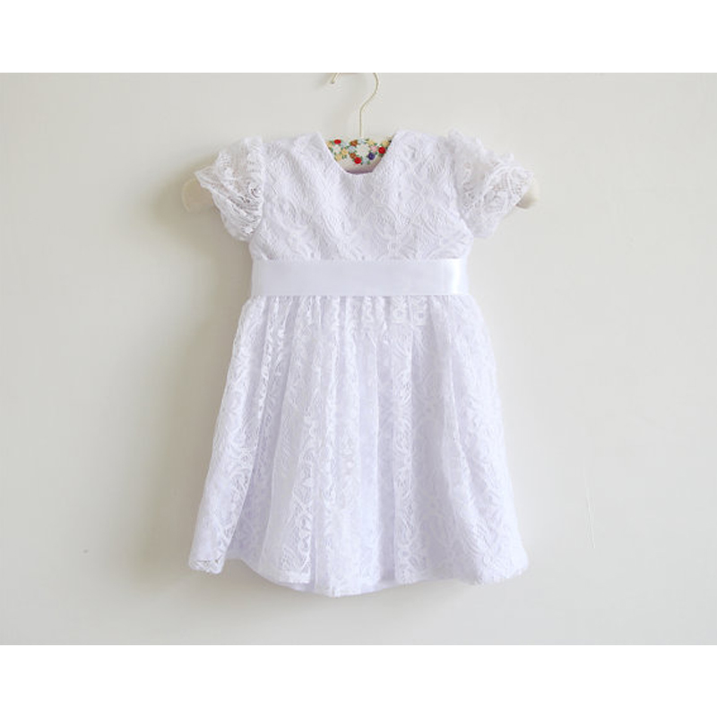 Lace First Communion Dresses for Girls A-Line Little Girls Mother Daughter Dresses Ankle-Length Flower Girl Dresses for Weddings lace flower girls dresses sleeveless first communion dresses for little girls a line tulle ankle length mother daughter dresses